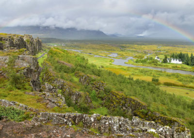 Thingvellir Landschaft