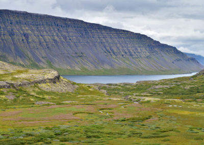Westfiorde Landschaft